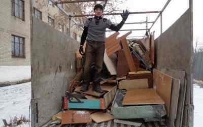 Вывоз строительного мусора / Вывоз мусора оказываем услуги