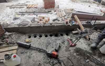 Услуги алмазного бурения (сверления), резки бетона оказываем услуги