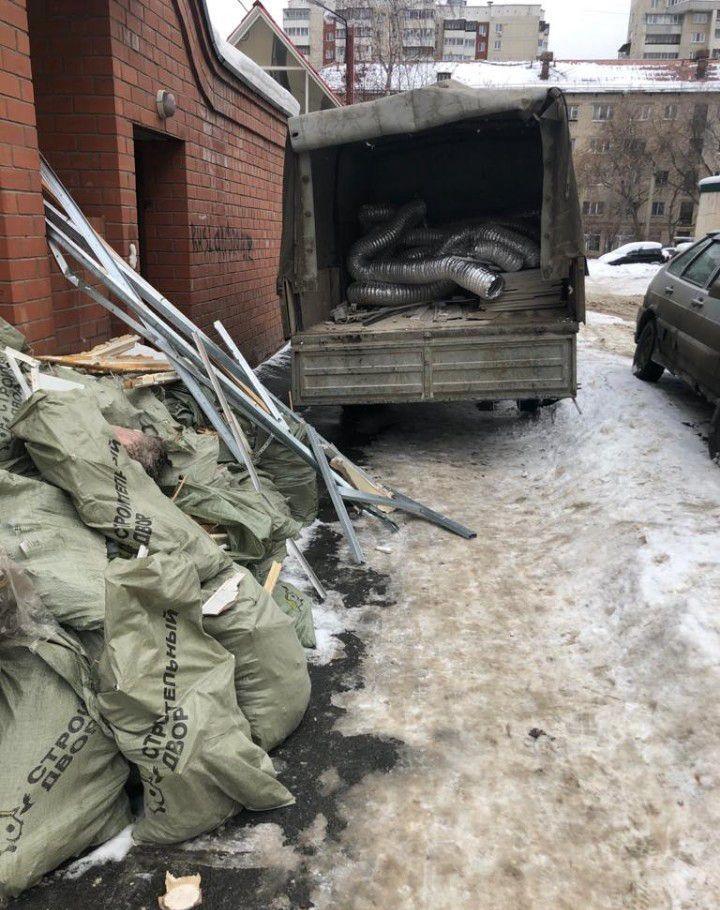 Вывоз строительного мусора. газель оказываем услуги
